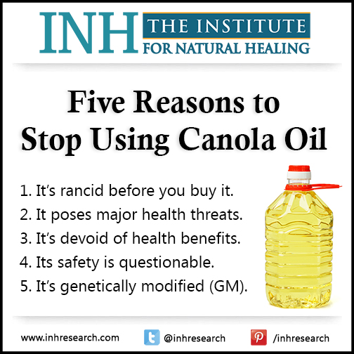 is canola oil healthy
